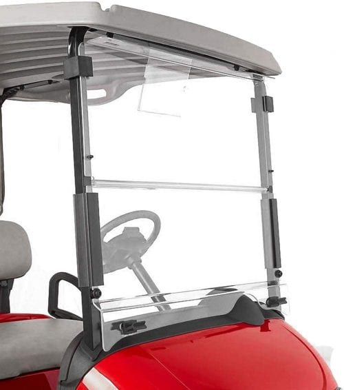 EPR Clear Windshield for EZGO RXV Gas and Electric Golf Carts 2008 & UP
