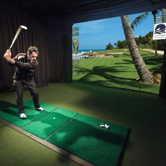 HD Golf Simulator Training Package