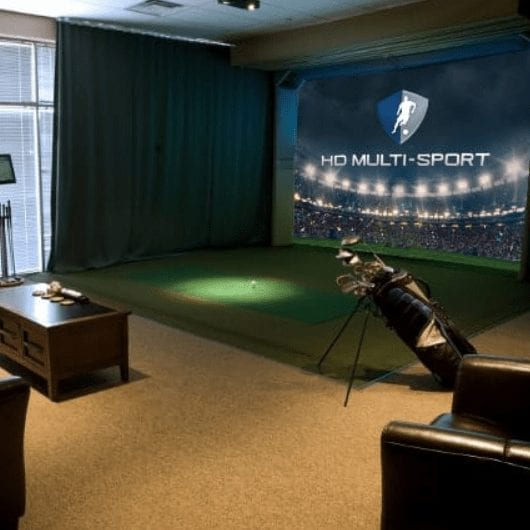 HD Golf Simulator Entertainment Package