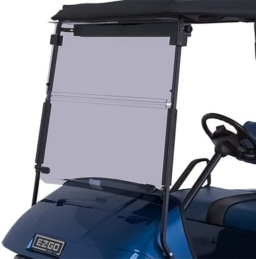 inted Foldable Windshield Compatible with EZGO TXT Medalist Golf Carts 1995 & Up